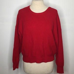 Red Zara knit sz Small